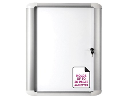 Mastervision Indoor Lockable Board